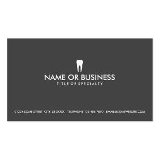 odontología simple tarjetas personales