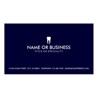 odontología simple tarjeta de visita
