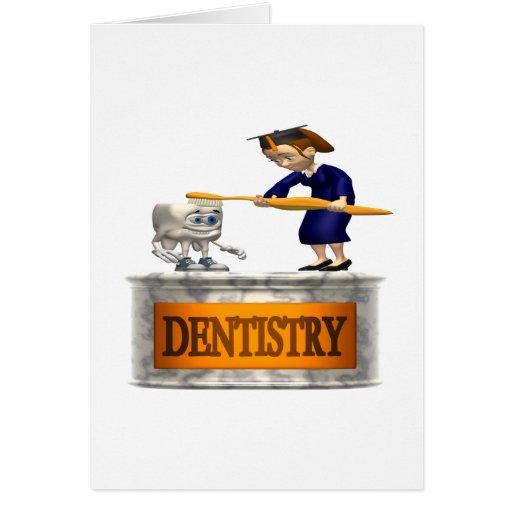 Odontología Tarjeta De Felicitación