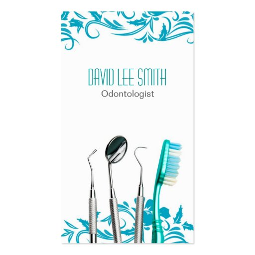 Odontologist Business Card