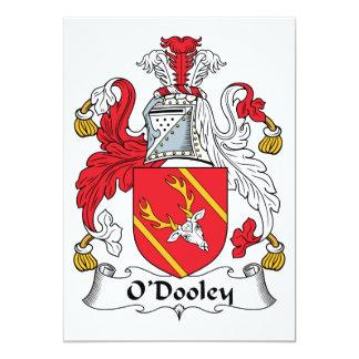 O'Dooley Family Crest Card