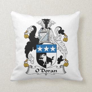 O'Doran Family Crest Throw Pillows