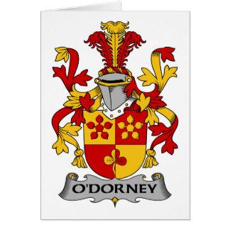O'Dorney Family Crest Card