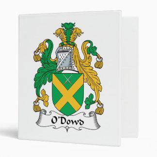O'Dowd Family Crest Binder