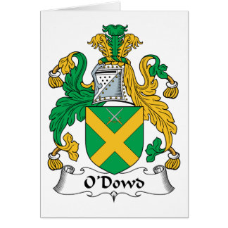 O'Dowd Family Crest Greeting Cards