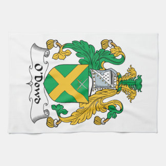 O'Dowd Family Crest Hand Towels