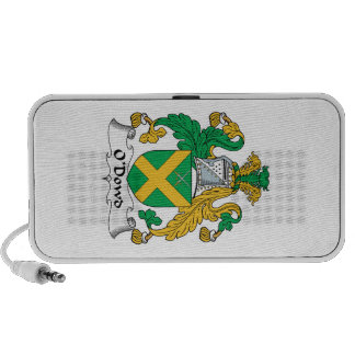 O'Dowd Family Crest iPhone Speakers