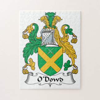 O'Dowd Family Crest Jigsaw Puzzles