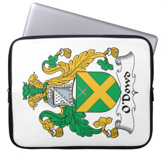 O'Dowd Family Crest Laptop Sleeves