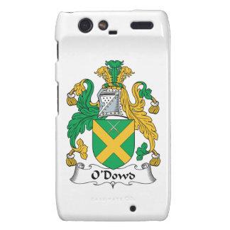 O'Dowd Family Crest Motorola Droid RAZR Cases