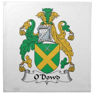 O'Dowd Family Crest Napkins