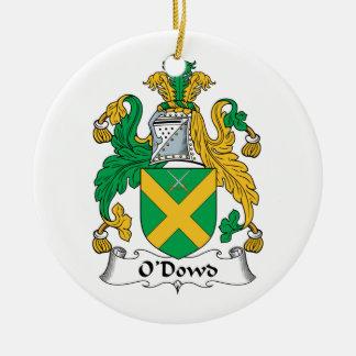 O'Dowd Family Crest Ornaments