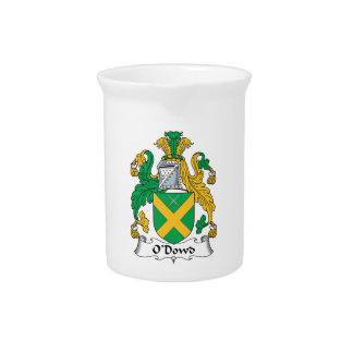 O'Dowd Family Crest Pitchers