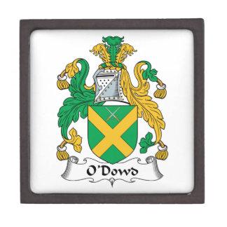 O'Dowd Family Crest Premium Jewelry Boxes