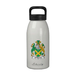 O'Dowd Family Crest Water Bottle