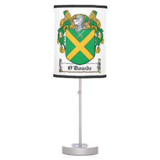 O'Dowde Family Crest Lamps