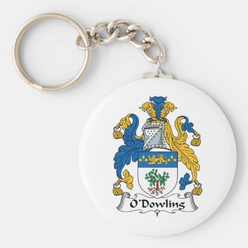 O'Dowling Family Crest Keychain