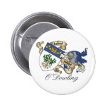 O'Dowling Family Crest Pinback Buttons