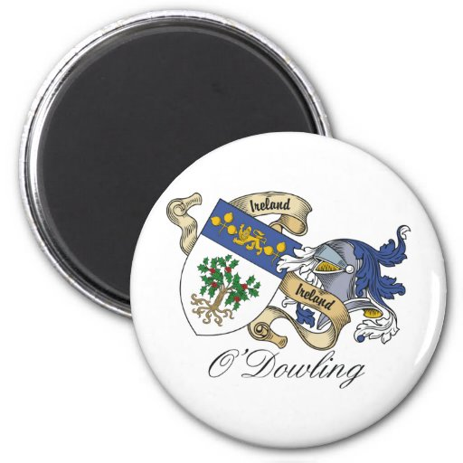 O'Dowling Family Crest Refrigerator Magnets