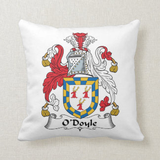 O'Doyle Family Crest Throw Pillow
