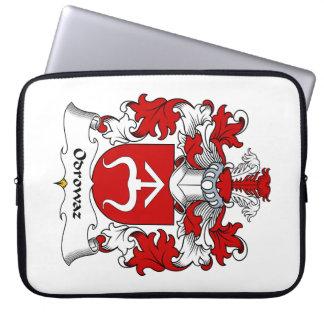 Odrowaz Family Crest Laptop Sleeve