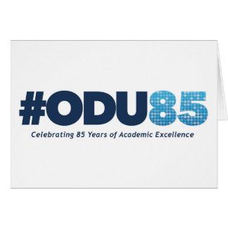ODU 85th Anniversary Card