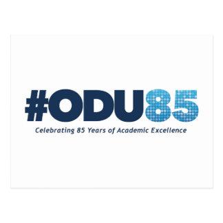 ODU 85th Anniversary Postcard