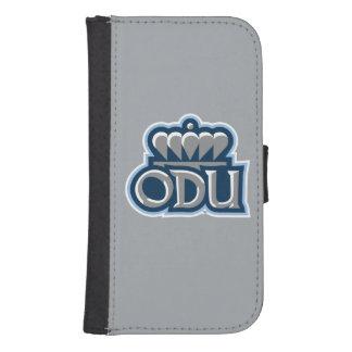 ODU apilado con la corona Fundas Tipo Billetera Para Galaxy S4