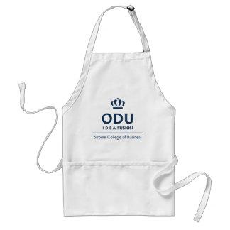ODU Stacked Logo - Blue Adult Apron