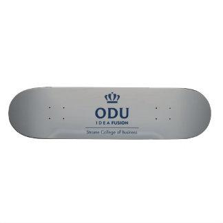 ODU Stacked Logo - Blue Skateboard