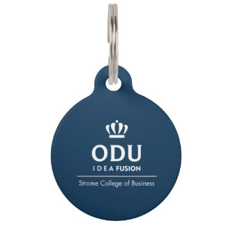 ODU Stacked Logo Pet Tags