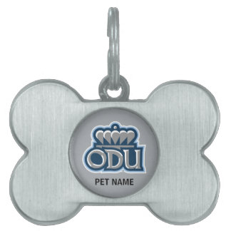 ODU Stacked with Crown Pet Tag