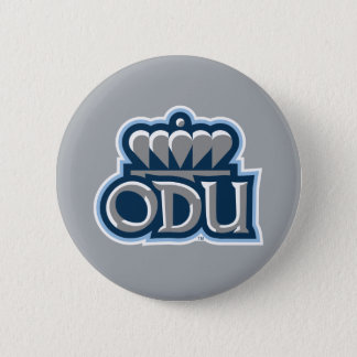 ODU Stacked with Crown Pinback Button