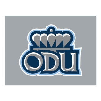ODU Stacked with Crown Postcard