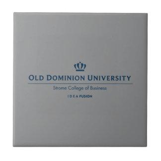 ODU Strome College of Business - Blue Ceramic Tile