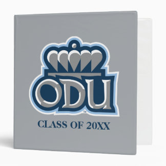 ODU with Crown and Class Year Binders