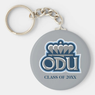ODU with Crown and Class Year Keychain