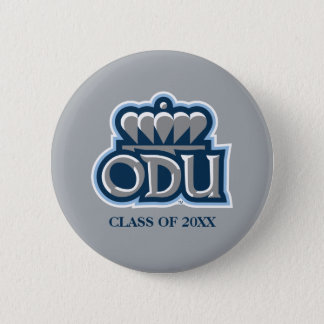 ODU with Crown and Class Year Pinback Button
