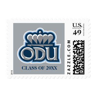 ODU with Crown and Class Year Postage Stamp