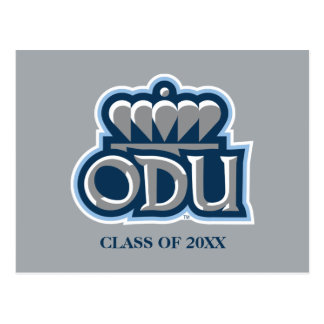ODU with Crown and Class Year Postcard