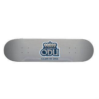 ODU with Crown and Class Year Skateboard Deck