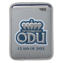 ODU with Crown and Class Year Sleeve For iPads