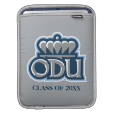 Odu With Crown And Class Year Sleeve For Ipads at Zazzle