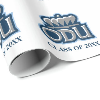 ODU with Crown and Class Year Wrapping Paper