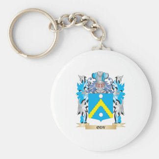 Ody Coat of Arms - Family Crest Basic Round Button Keychain