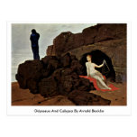 Odysseus And Calypso By Arnold Bocklin Post Card
