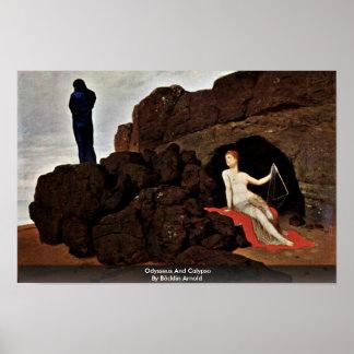 Odysseus And Calypso By Böcklin Arnold Print