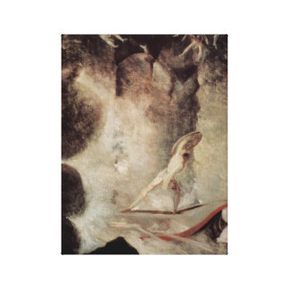 Odysseus In Front Of Scylla And Charybdis Canvas Print