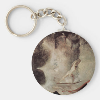 Odysseus In Front Of Scylla And Charybdis Keychain