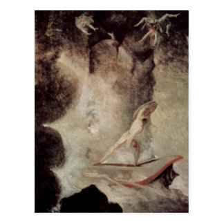 Odysseus In Front Of Scylla And Charybdis Postcard